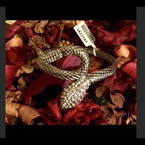 Jewelry - Rhinestone snake bracelet